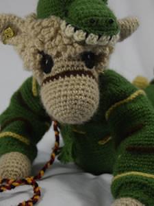 Honeyfield Mini Paca Endangered - crochet/knitted alpaca collectable